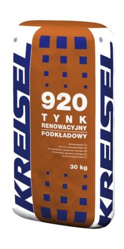 Реставрационная изветково-цементная шпаклевка Tynk Renowacyjny Podkladowy 920 Kreisel